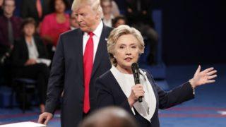 Trump Clinton battlegrounds