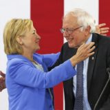Clinton and Sanders