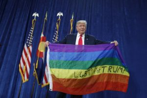 Trump LGBT Colorado