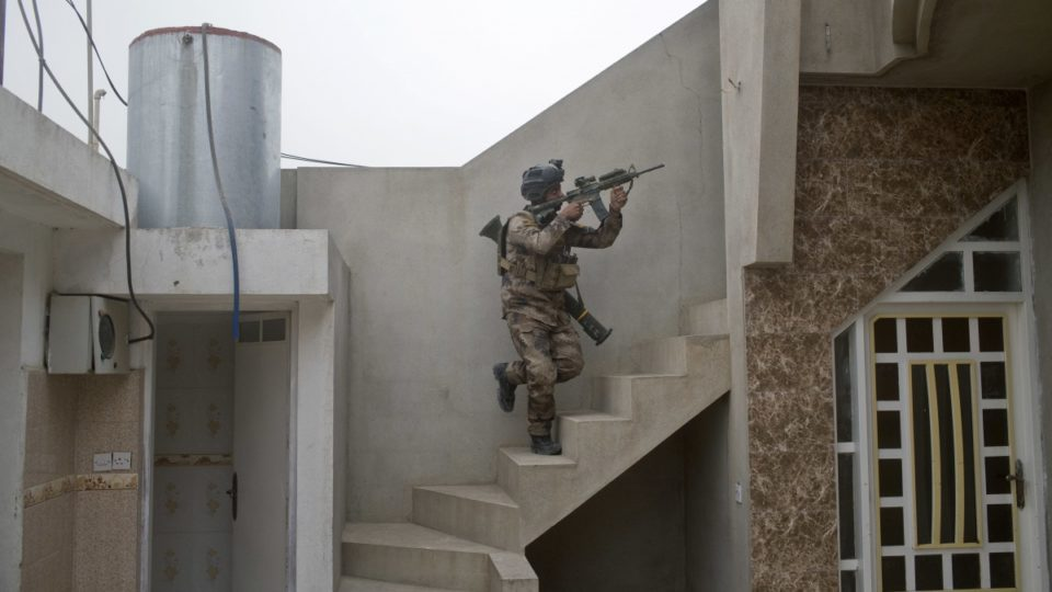 Iraqi special forces Mosul