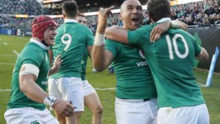 Ireland shock win over All Blacks