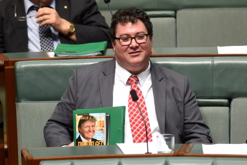 Trump australian politicians
