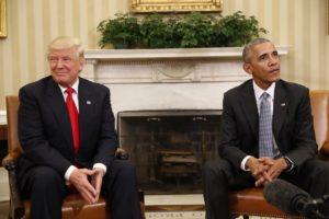 Trump Obama White House
