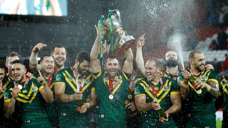 Rugby league world champions Australia
