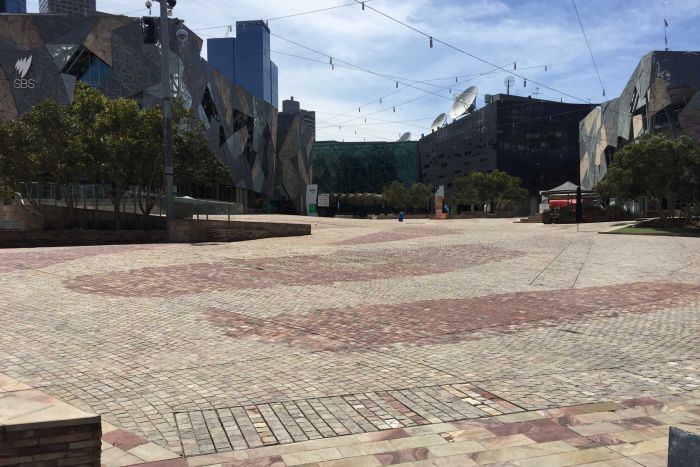 federation square evacuated