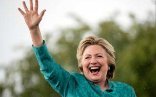 Clinton news lifts markets.
