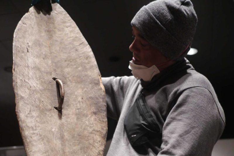 Aboriginal shield boomerang Berlin