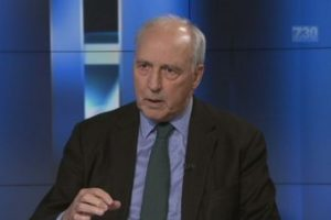 Paul Keating on 7.30