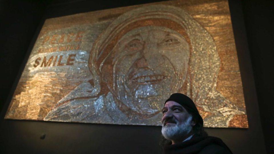 Mother Teresa staples