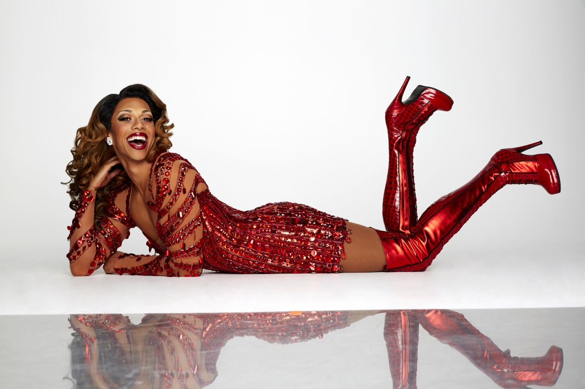 Callum Francis is a standout as drag queen Lola. Photo: J Green