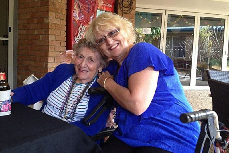 Charli Darragh and Marie Darragh