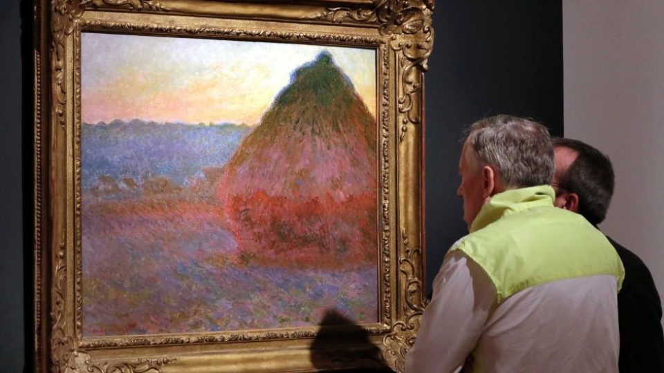 Claude Monet's Grainstack