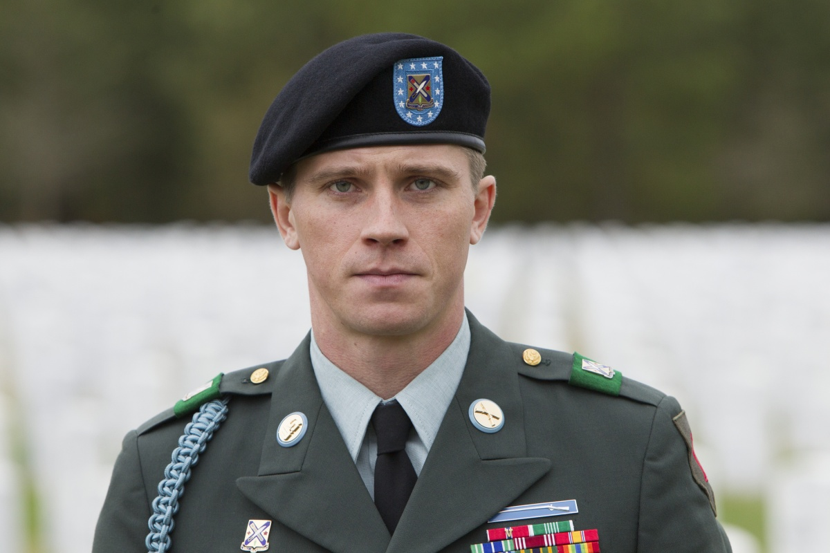 Garrett Hedlund is a standout as Billy Lynn's steely sergeant, Dime. Photo: Sony Pictures