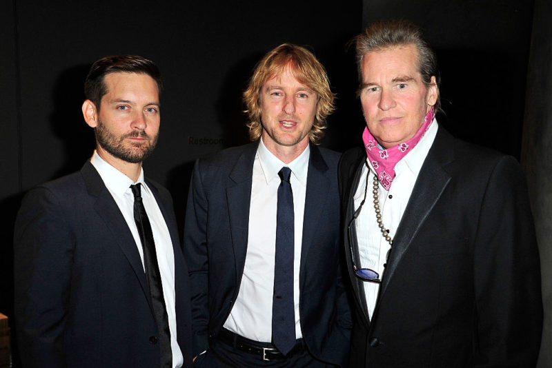 Val Kilmer apparently with a tracheostomy in September last year.