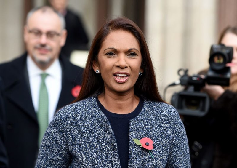 Gina Miller also earned the ire of the finance sector with her campaign to clean up the industry. Photo: Getty.