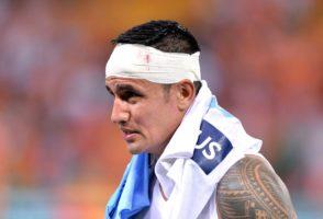 Tim Cahill in loss to Brisbane Roar