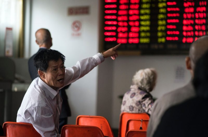 Chinese investors could lose faith. Photo: Getty