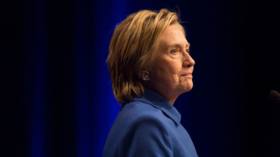 Hillary Clinton is honored at Children's Defense Fund event in Washington, DC