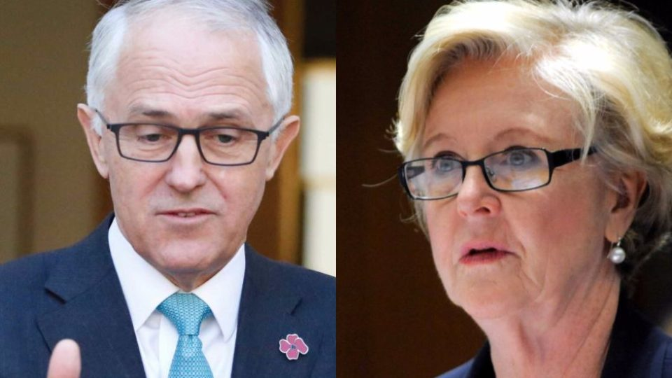 Malcolm Turnbull and Gillian Triggs