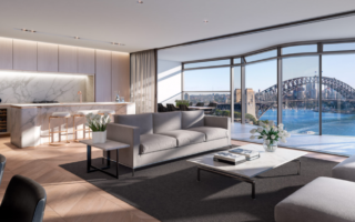 Opera Residences on Circular Quay will offer up views like this.