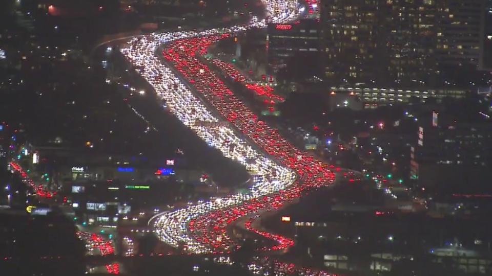 i 405 thanksgiving traffic