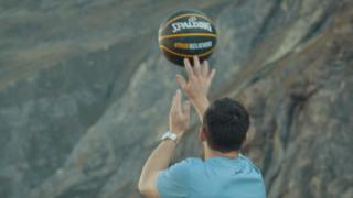 world record basketball shot Guinness