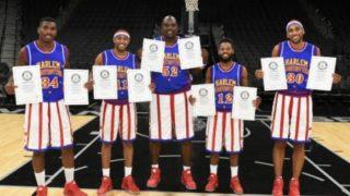 Harlem Globetrotters nine world records