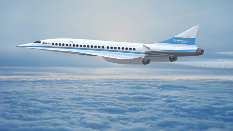 Richard Branson's Plan to Bring Back Supersonic Flight
