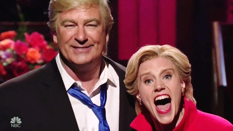 SNL's Kate McKinnon and Alec Baldwin urge everyone to vote