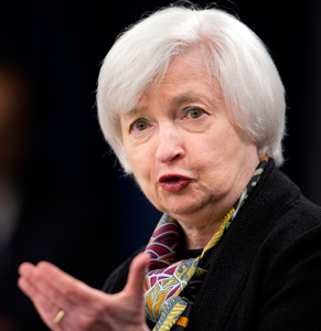 The Fed under Janet Yellen looks poised to finally lift the federal funds rate target, which is currently 0.25-0.50. Photo: AAP