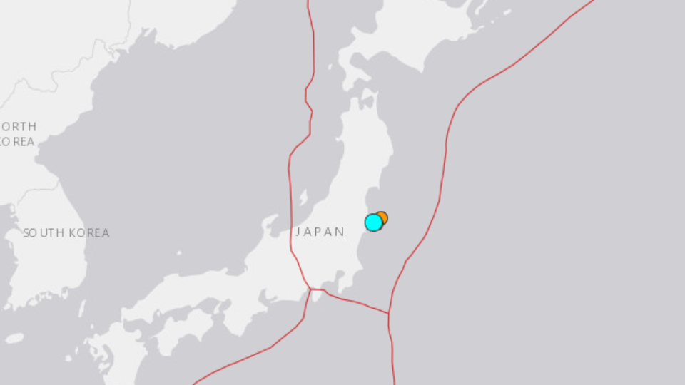Magnitude 5.6 quake strikes off coast of Japan