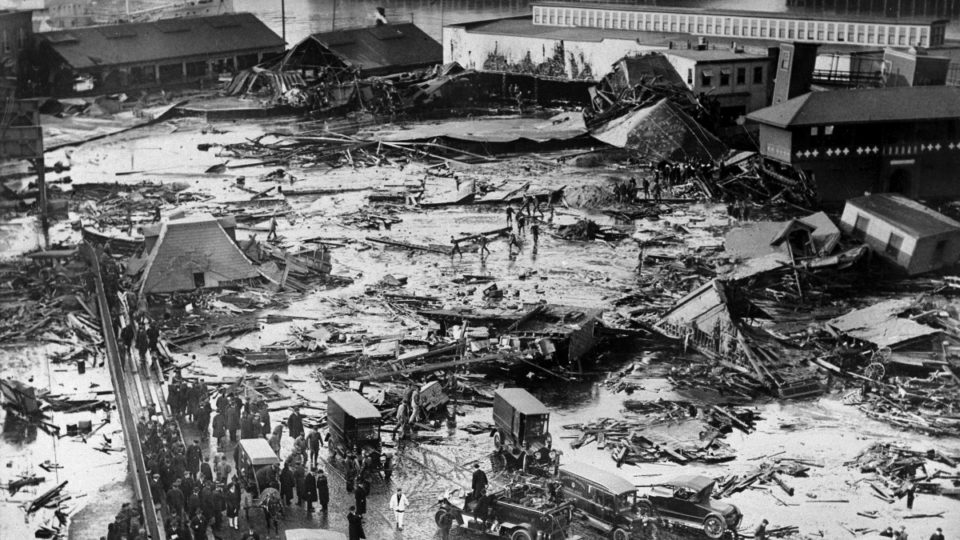 Great Molasses Flood of 1919