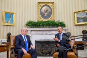 Obama meets with the Israeli PM Benjamin Netanyahu. The pair have had a testy relationship.