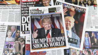 front pages trump win