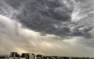 Melbourne storm Nov 2016