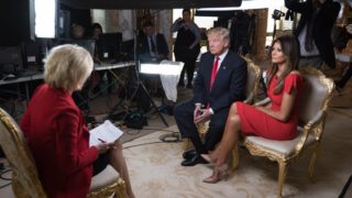 Trump says Hillary Clinton is 'strong and smart'.