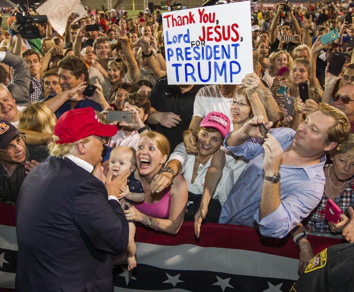donadl trump fans