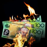burning cash $100