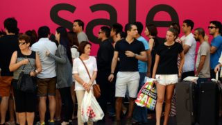 Boxing Day sales Sydney