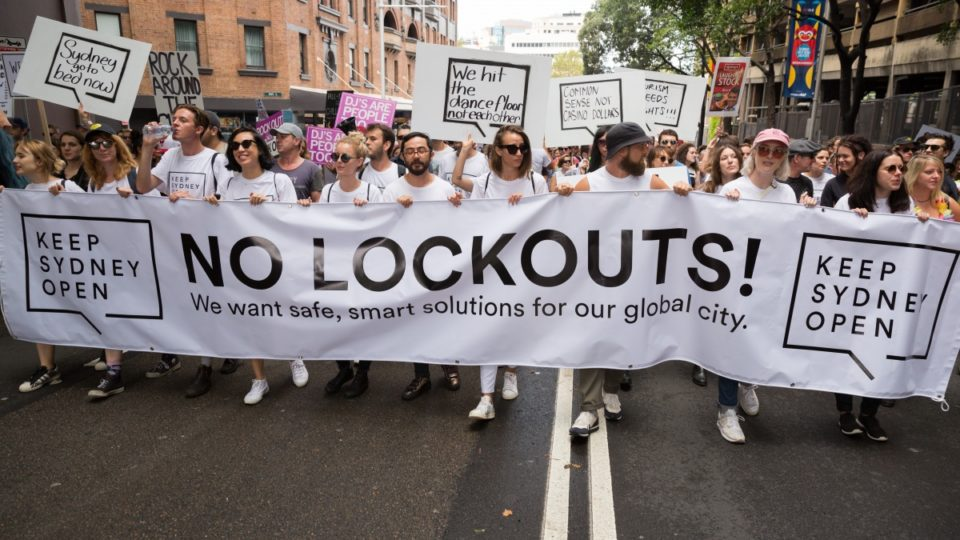 lockout laws protest