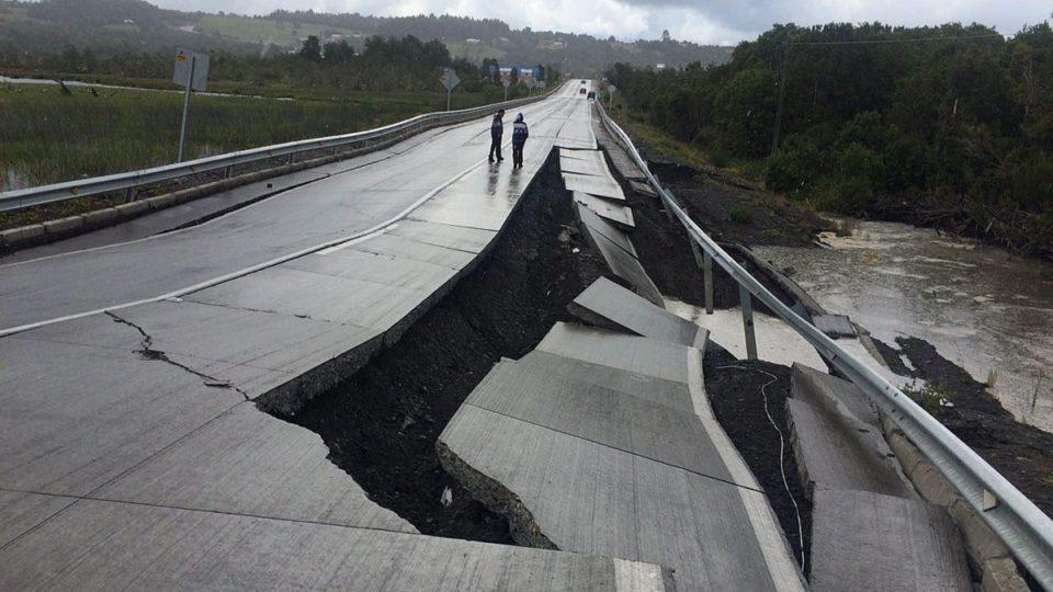 Chile earthquake