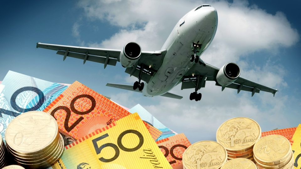 overseas travel holidays aud australian dollar
