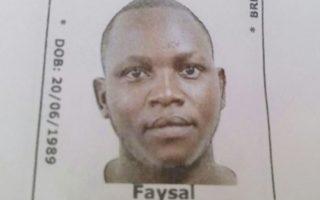Sudanese refugee Faysal Ishak Ahmed.