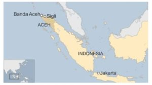 The Aceh province.