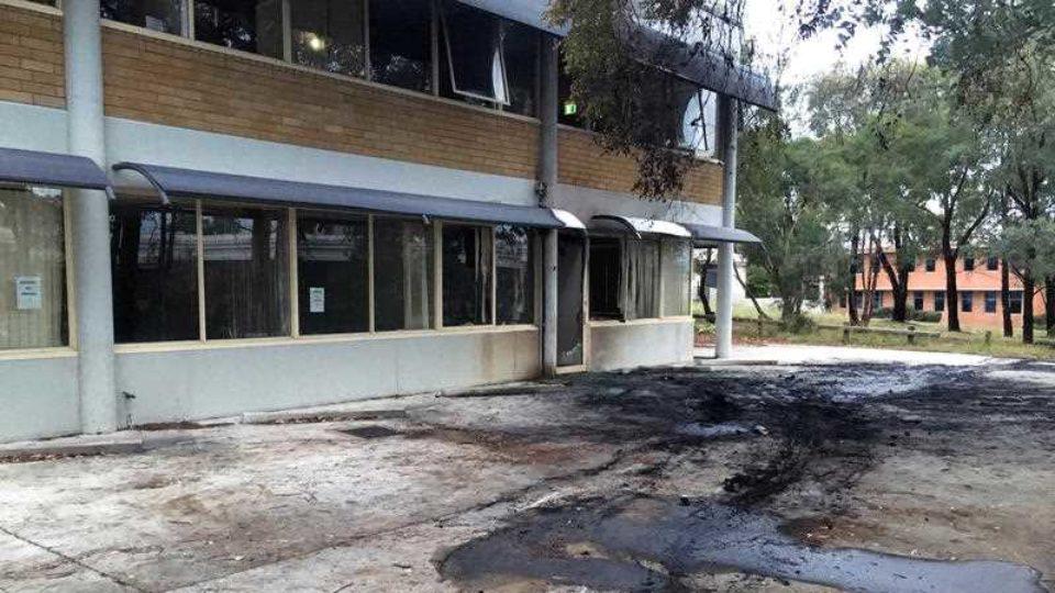 Christian Lobby firebombed
