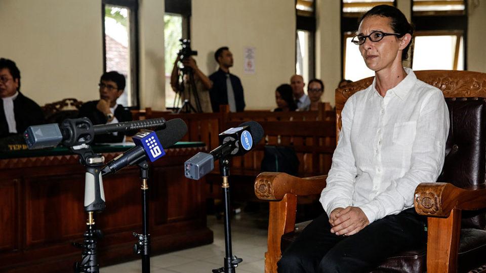 Bali police murder trial