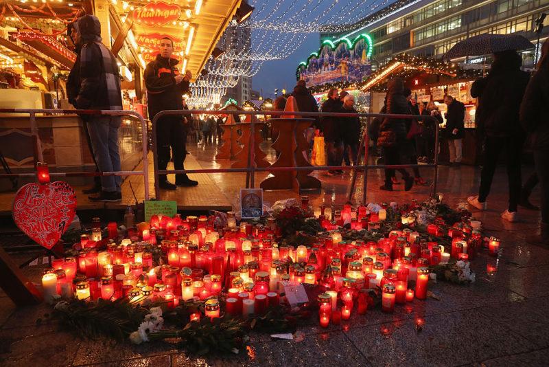 Berlin terror attack market reopens