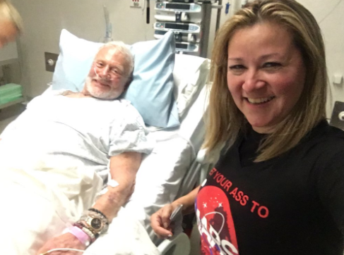 Buzz Aldrin recovering in Christchurch Hospital