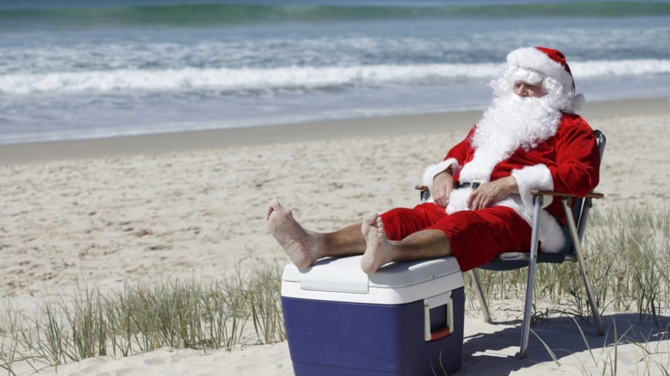 Christmas Day scorcher for Victoria, BoM warns of heatwave