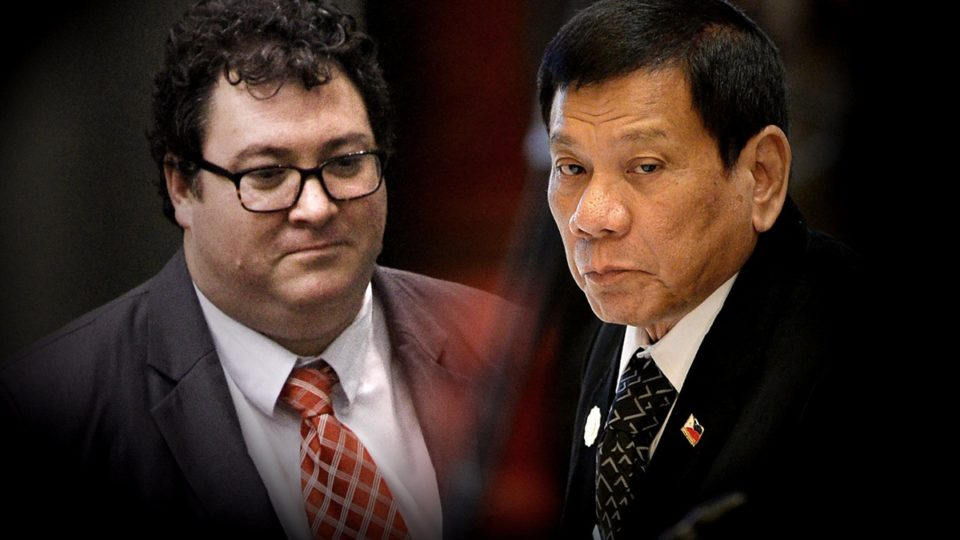 George Christensen supports Rodrigo Duterte's war on drugs